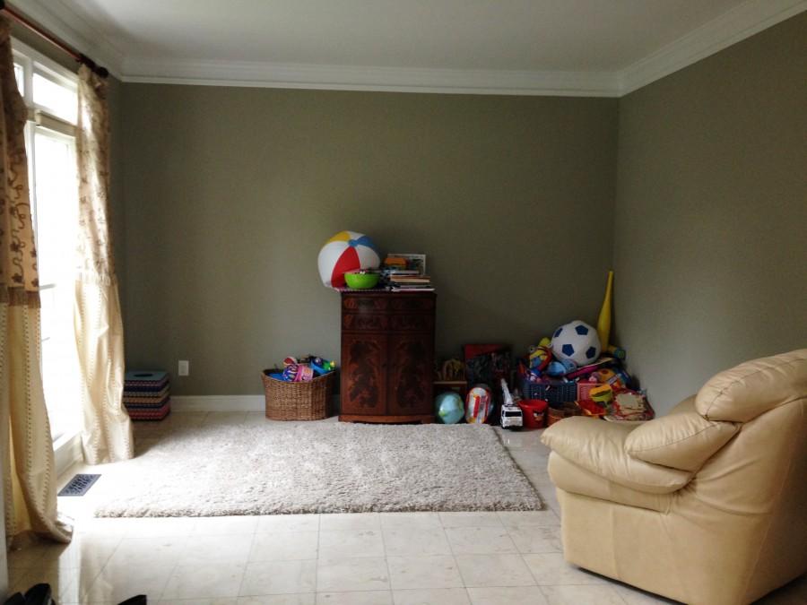 Atlanta living room - before