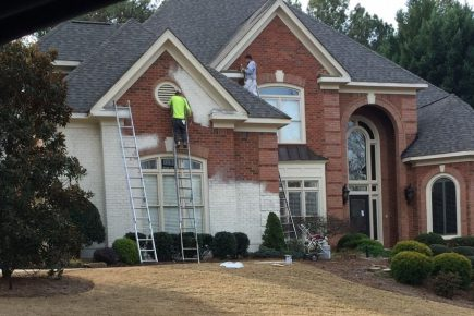 Painted Brick Done Right