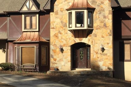 Tudor Home Gets a Facelift