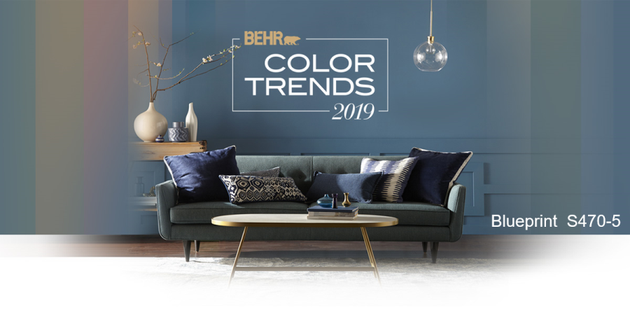 2019 Color Of The Year From Ben Moore Behr Ppg And Sherwin Williams
