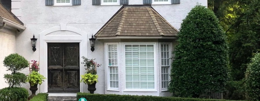 Painted Brick Stucco And Siding Before After Patsy Overton Interiors